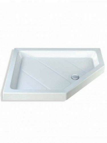 MX CLASSIC NEO OFFSET 1200X900MM SHOWER TRAY RIGHT HAND INCLUDING WASTE